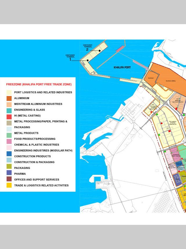 Khalifa Port Free Trade Zone - Khalifa Industrial Zone Abu